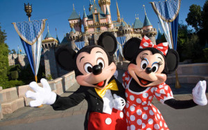 Disney Minnie and Mickey